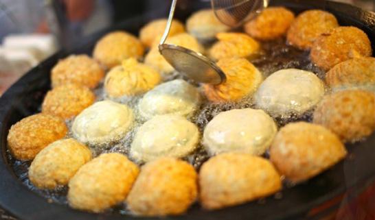 Gourmet Fried Food
